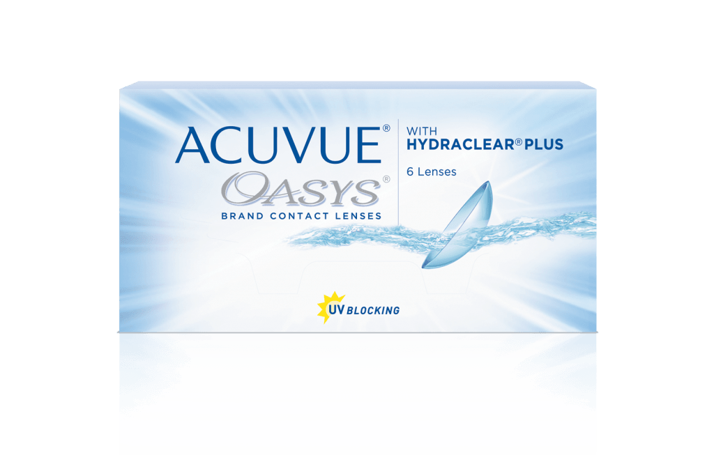 ACUVUE OASYS® avec technologie HYDRACLEAR® PLUS